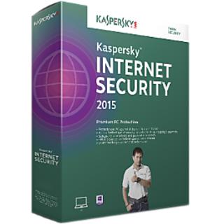Kaspersky Internet Security 2015 3 User 1 Year