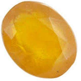 Yellow Sapphire 9.25 Carat Pukhraj Certified Natural Rashi Rata