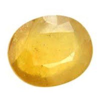Yellow Sapphire Natural Certified Original Unheated Gemstone 8.5 Carat BY Durga gems