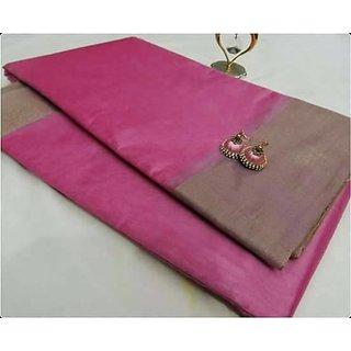 Pink kota silk cotton sarees