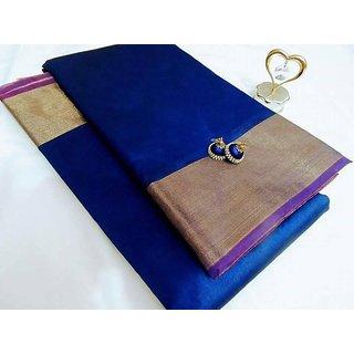 Blue Kota silk cotton sarees