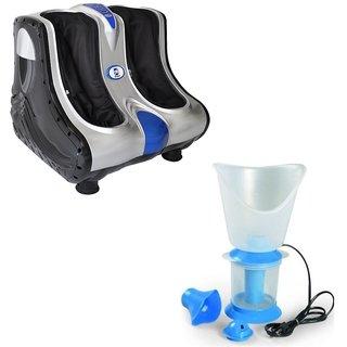 Deemark Combo Of Leg Foot Massager With Vaporizer As Freebie
