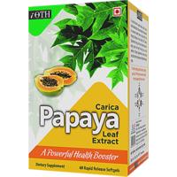 IOTH Carica Papaya Leaf Extract - Liquid Softgels For B