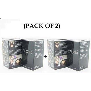 Caboki hair building fibers (PACK OF 2)- 25 gm- Natural Black Color