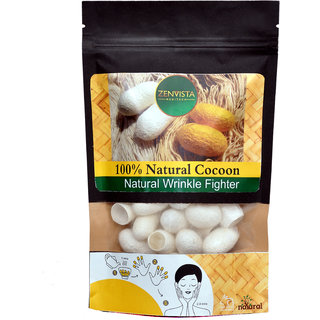 NATURAL SILK COCOON,Natures Anti Ageing, Wrinkle Removal Agent