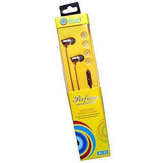Bluei BL-20 Super Bass, Perfect Sound Perfume Earphone high quality