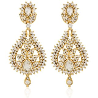 Jewels Gehna Alloy Party Wear  Wedding Traditional Stone Stylish Earring Set For Women  Girls
