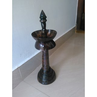 coconut shell Puja lamp