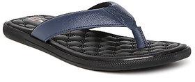 Franco Leone BLUE Slip On Slippers