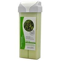 Roll-On HOT Depilatory Wax Cartridge GREEN TEA Heater Waxing Hair Removal Salon