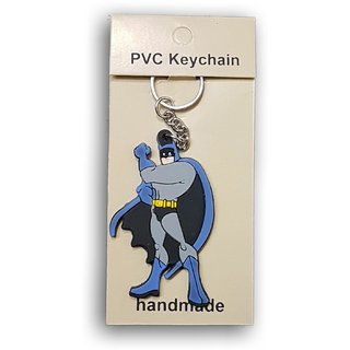 FeatherTouch PVC Batman Keychain / Key Ring - Kids Toy - Action Figure