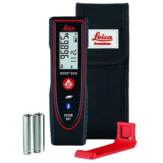 Leica Disto D110 Outdoor Laser Distance Meter With Bluetooth