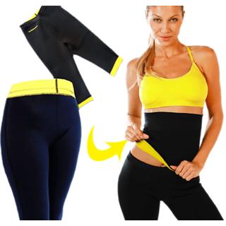 14ca298dda164 Buy Neoprene Hot Waist Shaper Pant + Belt Combo Online - Get 73% Off