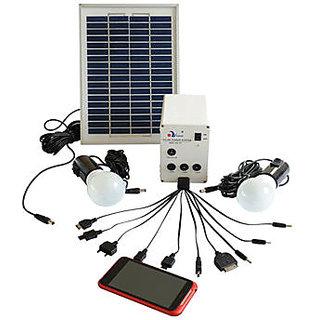 Buy Mazda Solar Home Lighting System 3pcs Bulbs 10w