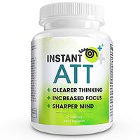 Instant Att - All-Natural Perfect Brain Supplement. Smart Choice Extreme
