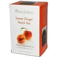 Revolution Tea - Sweet Ginger Peach Tea, 16 Bag