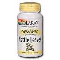 Organic Nettle Leaves 450Mg Solaray 100 Caps