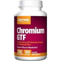 Jarrow Formulas Chromium Gtf, 100 Capsules (Pack Of 3)
