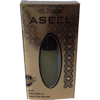 Al-Nuaim ASEEL Attar 8 ml Alcohol Free Long Lasting Perfume With Roll On Easy To Apply
