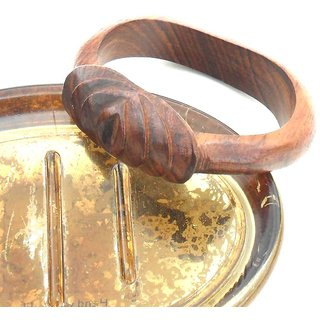 Handcrafted Rose Wooden Bangle