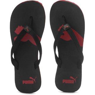 21cd8093dba5 Buy Puma Unisex Atlanta Black Red Dp Flip Flops Online - Get 33% Off
