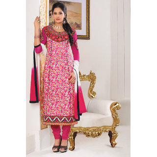 Marvellous Pink Color Salwar Kameez