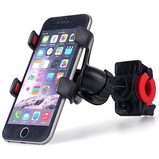 Universal Bike Bicycle Handle Mount Cradle Cell Phone Support Case Motorcycle Handlebar Mobile Holder