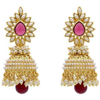 Penny Jewels Party Wear Latest Designer Stylish Fancy Jhumki Earring Set For Women  Girls