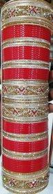 Bangle Set Gold Tone Women Wear Kangan Bracelet Jewelr
