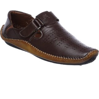 G.T.B Men's Casual Loafer Shoes (BROWN)
