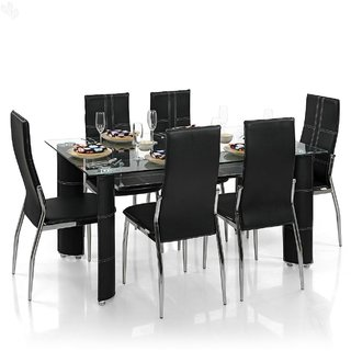 Buy Royal Oak Geneva Dining Set With 6 Chairs Online