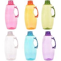 TRUENOW Ventures Pvt. Ltd. Unbreakable Multicolor Covered Open 6 Water Bottle Set