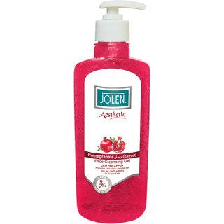 Jolen Aesthetic Pomegranate Face Cleansing Gel - 250 ml