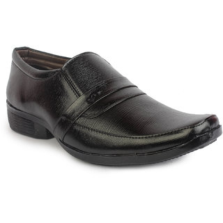 Inure Black Formal Shoes Article No 3010