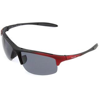 9ad3d5c08901 Buy Fastrack P354BK2 Sports Sunglasses Size Medium Black   Black ...