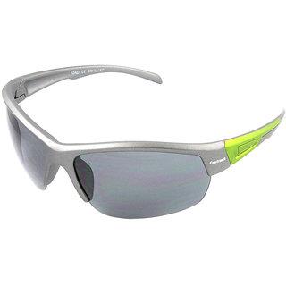6b4ef76875ceb Buy Fastrack P355BK2 Sports Sunglasses Size Medium Silver   Black ...