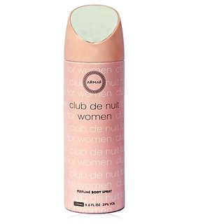 Armaf Club De Nuit Perfume Body Spray Women
