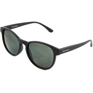 dac76a820484 Buy Fastrack P360GR1 Round Sunglasses Size Medium Black   Green ...