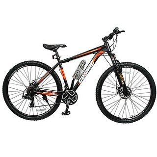 COSMIC TRIUM 29 INCH 21 SPEED HARDTRAIL BICYCLE BLACK/ORANGE - SPECIAL EDITION