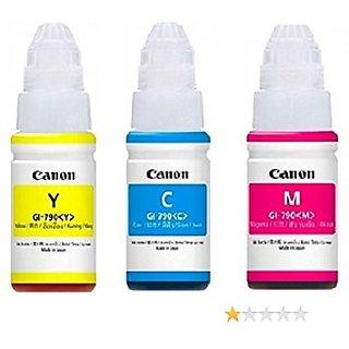 CANON GI-790 Original ink Bottle Tri Color For Canon Pixma G1000, G2000, G3000