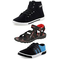 Sketch Mens Combo Pack Of 2 Casual Shoes &Amp; Sandals