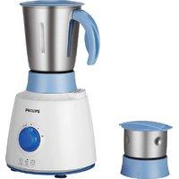 Philips HL7600/04 500 W Mixer Grinder  (White, Blue, 2 Jars)