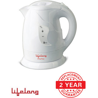 Lifelong TeaTime2 - 1 L Concealed Electric Kettle - (White)