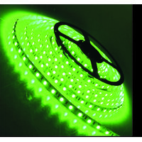 5 METER SMD GREEN LED STRIP 12 VOLTS ROLL