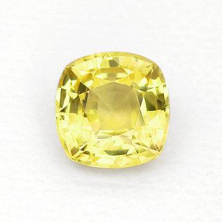 jaipur gemstone 8.25 ratti yellow sapphrire(pukhra)