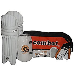 Combat Regular Quality Complete Cricket Kit Without Cricket Bat-Youth