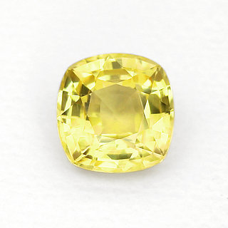 jaipur gemstone 5.25 ratti yellow sapphrire(pukhra)