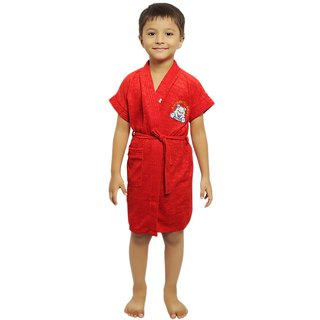 Superior Kids Bathrobe (Red Dc)