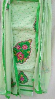 Cotton Dress Materials (Unstitched)