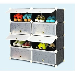 PLASTIC SHOE RACK 8 LAYERS DOUBLE LKL 201